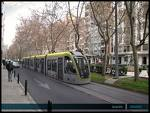Recreación Tranvia por Zaragoza