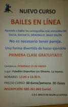 CURSO BAILE EN LINEA