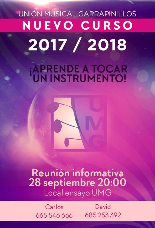 CARTEL INICIO CURSO 2017-2018